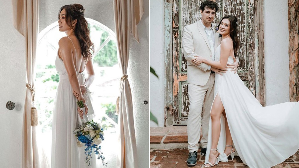 Ina Feleo's Minimalist Bridal Look Is The Definition Of Sexy And Chic