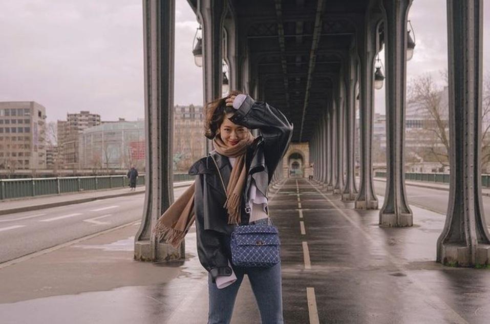 park shin hye designer bags