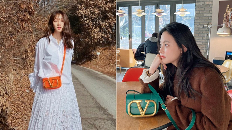 Valentino Supervee Is The New It Bag K-drama Actresses Are Obsessed With