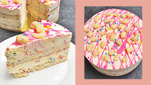 This Whimsical Ice-cream Cake Is Perfect For Your Christmas Celebrations