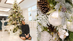 We're Obsessed With How Gabbi Garcia Styled Their Christmas Tree At Home
