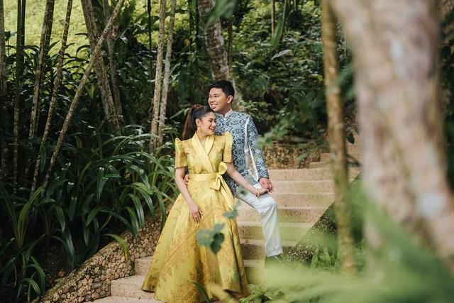 Shari Ampatuan and Datu Pax Ali Mangududatu acceptance pre-engagement photoshoot