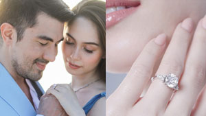 This Is The Exact Engagement Ring Luis Manzano Gave Jessy Mendiola