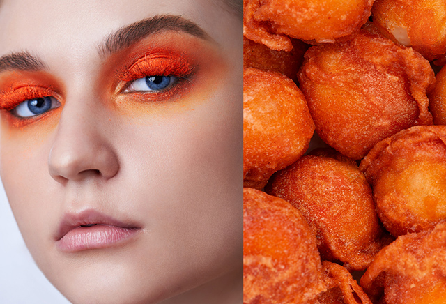 pinoy street food inspired beauty editorial