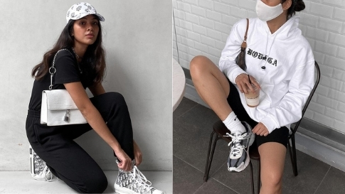 12 Black-and-white Outfit Combos To Copy From Angelique Manto