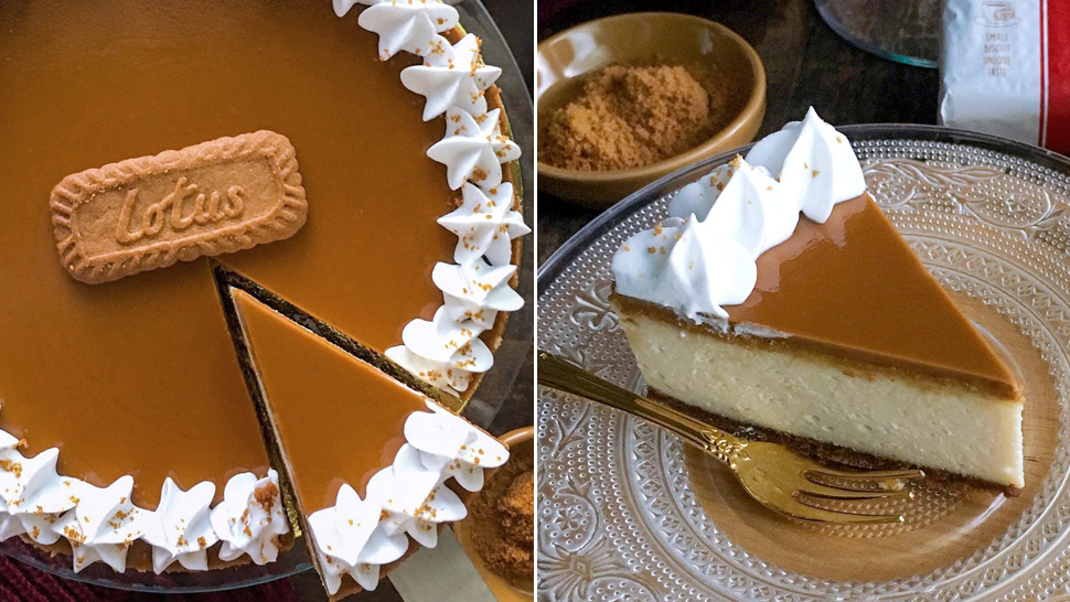 Cookie Butter Cheesecake Exists And It Looks So Good