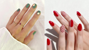 12 Festive Yet Minimalist Manicure Ideas You Can Wear For The Holidays
