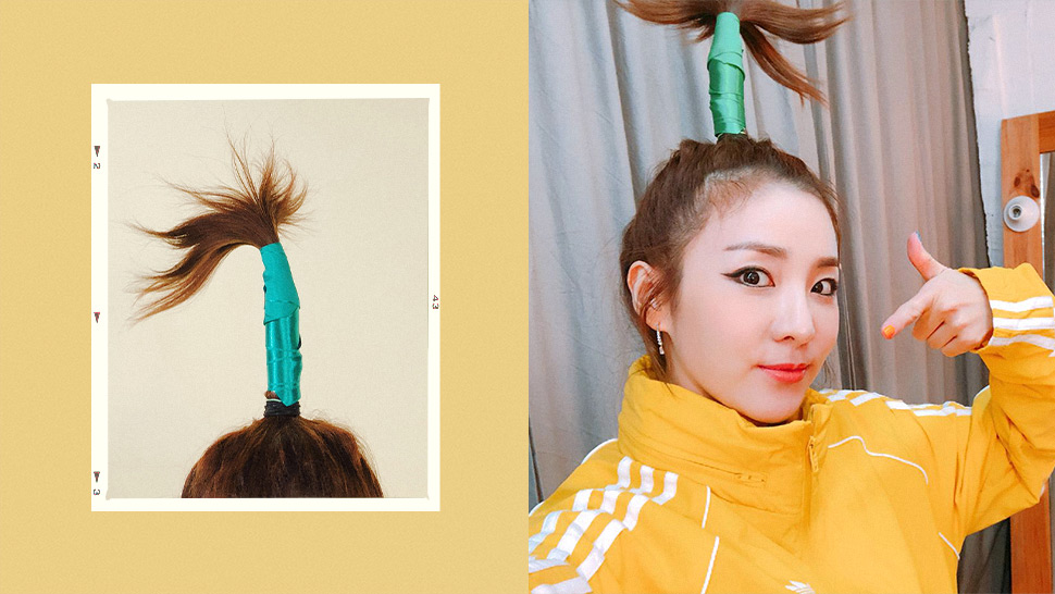 """Sandara Park Recalls How Painful Her Iconic """"palm Tree"""" Hairstyle Was"""