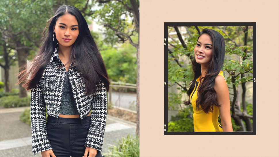 Filipina-japanese Crowned Miss Universe Japan 2020 Runner-up