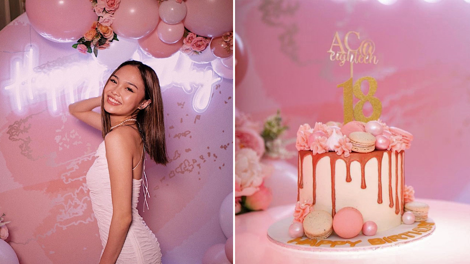 You Need To See Ac Bonifacio's Cute All-pink 18th Birthday Celebration