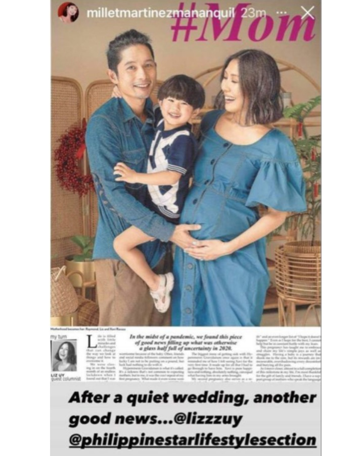 liz uy secret wedding and second pregnancy