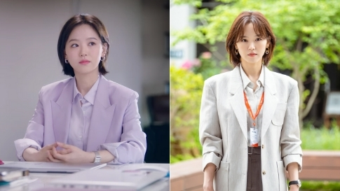 """10 Blazer Outfits To Copy From Kang Han Na Of """"start-up"""""""