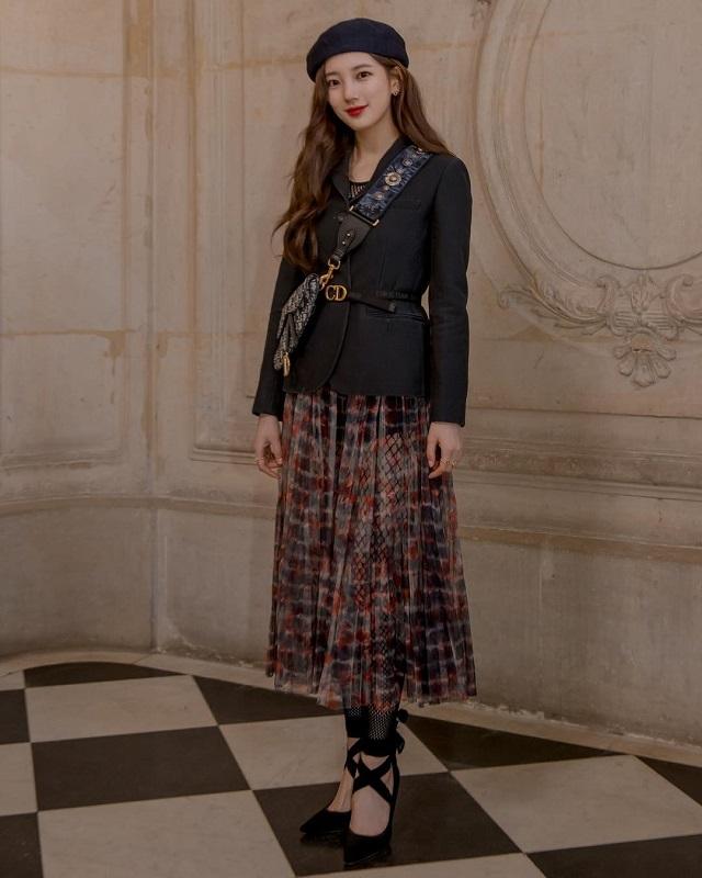 Dior front row outfit fashion challenge tiktok
