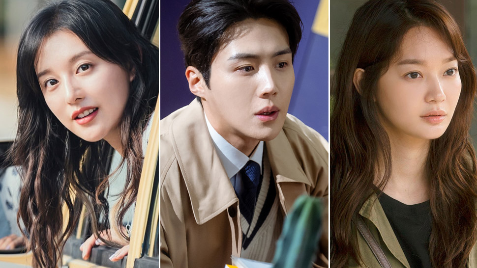 Kim Ji Won And Shin Min Ah Are Both Rumored To Be Kim Seon Ho's Next Leading Lady