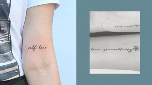 9 Delicate Tattoo Ideas That Will Remind You To Love Yourself More