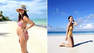5 Bikini-clad Celebrities We Recently Spotted Vacationing In Amanpulo