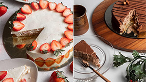 These Gorgeous New Cakes From Eric Kayser Were Launched Just In Time For The Holidays