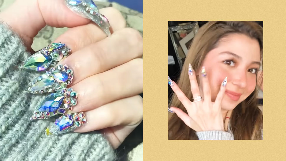 You Have to See Donnalyn Bartolome Get Her Nails Done By Cardi B's Nail Artist!