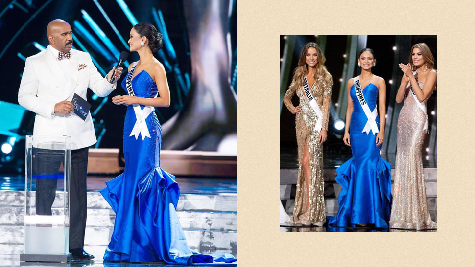 Did You Know? Pia Wurtzbach Almost Wore A Different Dress For Miss Universe 2015