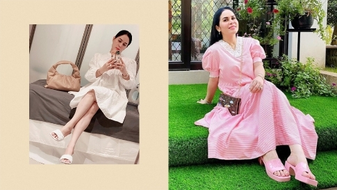 8 Of The Most Expensive Sandals We Spotted On Jinkee Pacquiao