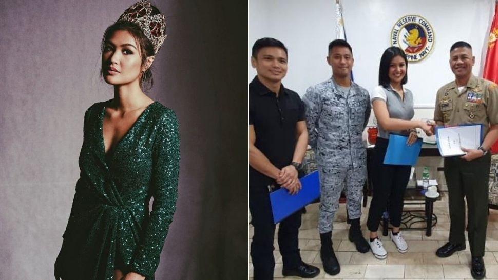 Beauty Queen Winwyn Marquez Enlisted to Be a Marine Reservist