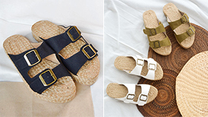 The Chunky '90s Sandal Gets A Rustic Makeover You'll Want To Wear