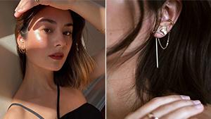 We're Obsessed With Mari Jasmine's Dainty Ear Piercings
