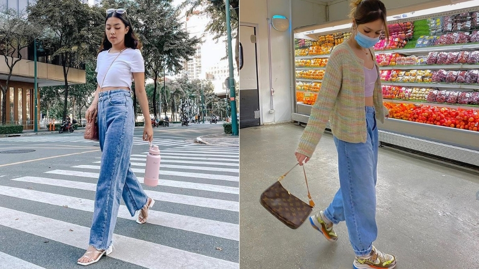 8 Stylish Ways To Wear Baggy Jeans, As Seen On Local Influencers