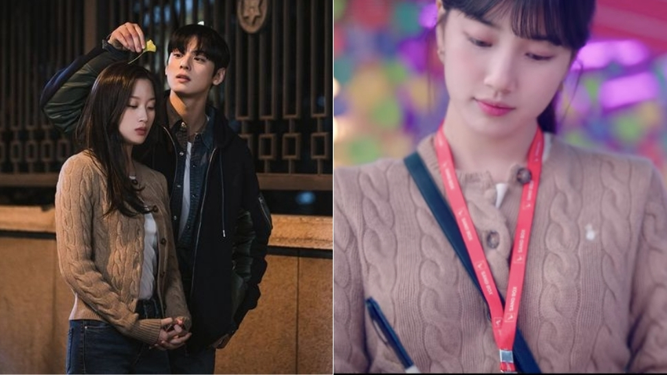 We Found The Exact Cardigan Bae Suzy And Moon Ga Young Both Love
