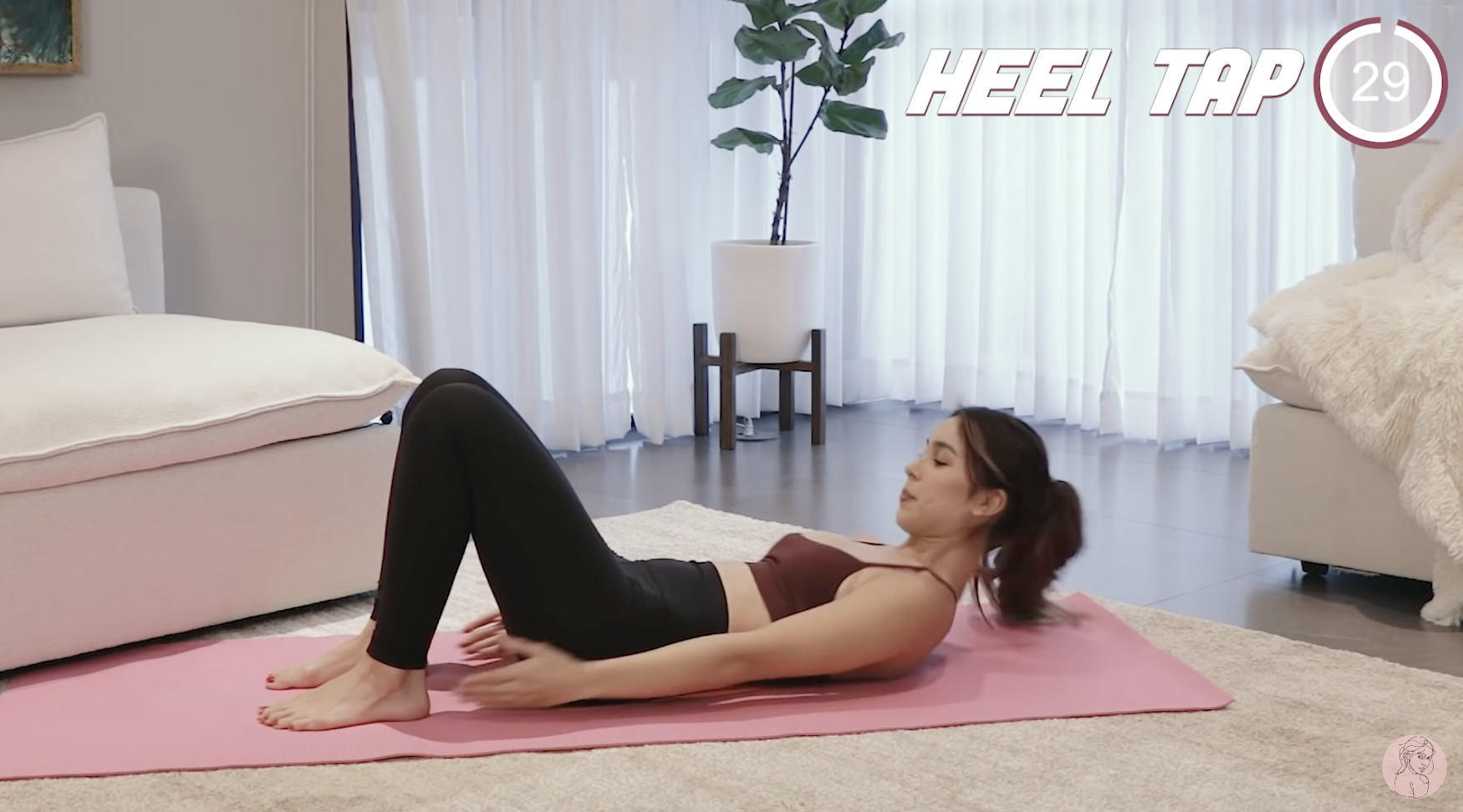 julia barretto ab workout