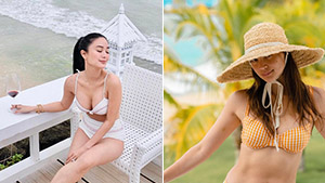 6 Stylish Celebrities Who Welcomed The New Year At The Beach