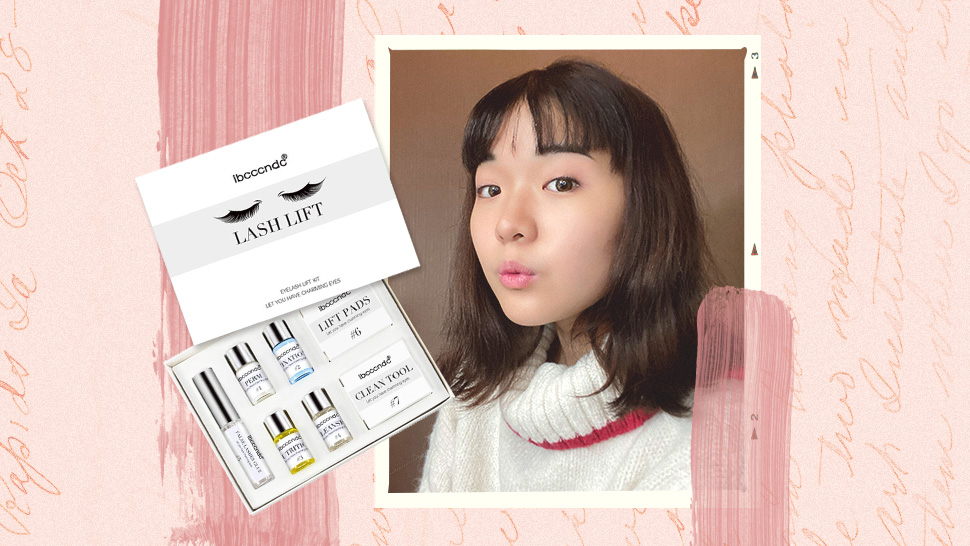 I Tried to Give Myself a Lash Lift at Home and Here's How It Went