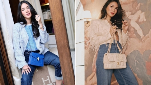 10 Chic Ways To Style You Jeans Like Heart Evangelista