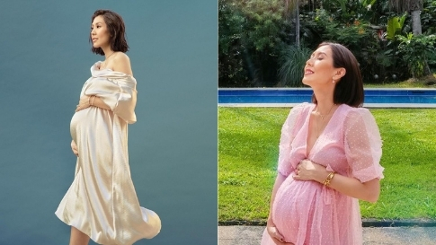 6 Stylish Pregnancy Outfits We've Spotted On Liz Uy