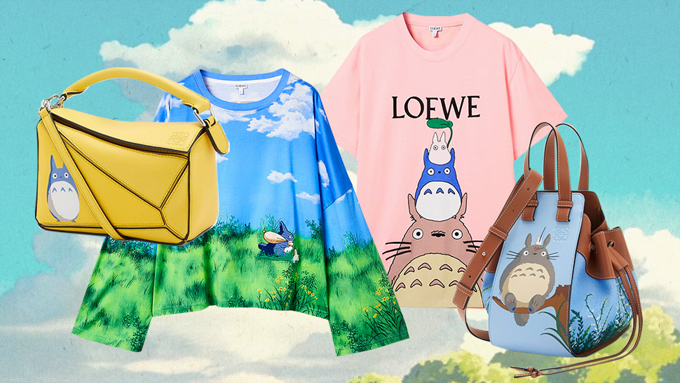 "Studio Ghibli Fans, You'll Love Loewe's ""my Neighbor Totoro"" Collection"