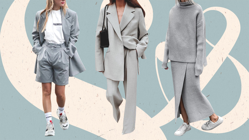 10 Monochrome Gray Outfit Combinations That Always Look Fresh