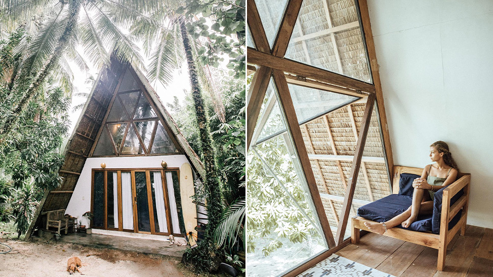 This Aesthetic Triangle House In Siargao Should Be Your Next Travel Destination