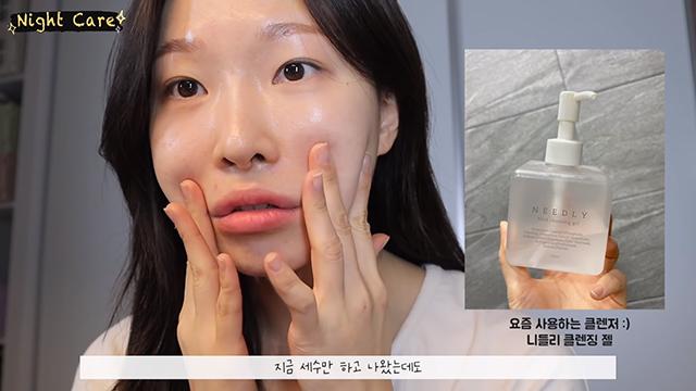 korean makeup artist glass skin routine for acne skin