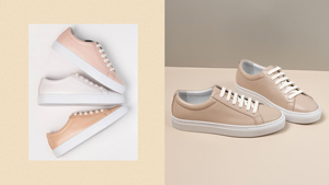 This Local Brand's Minimalist Sneakers Come In The Prettiest Neutral Colors
