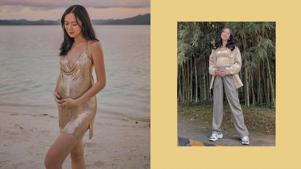 All Of Camille Co's Most Stylish Pregnancy Ootds