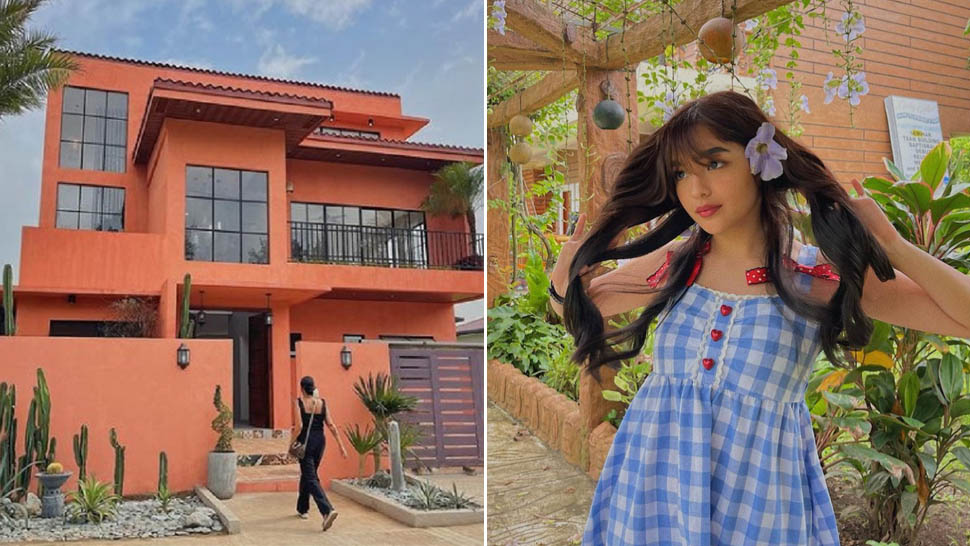 Andrea Brillantes Has Completed Building Her Dream Family Home