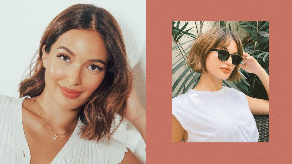 Sarah Lahbati Just Got A Boyfriend Bob For The New Year And We're Obsessed