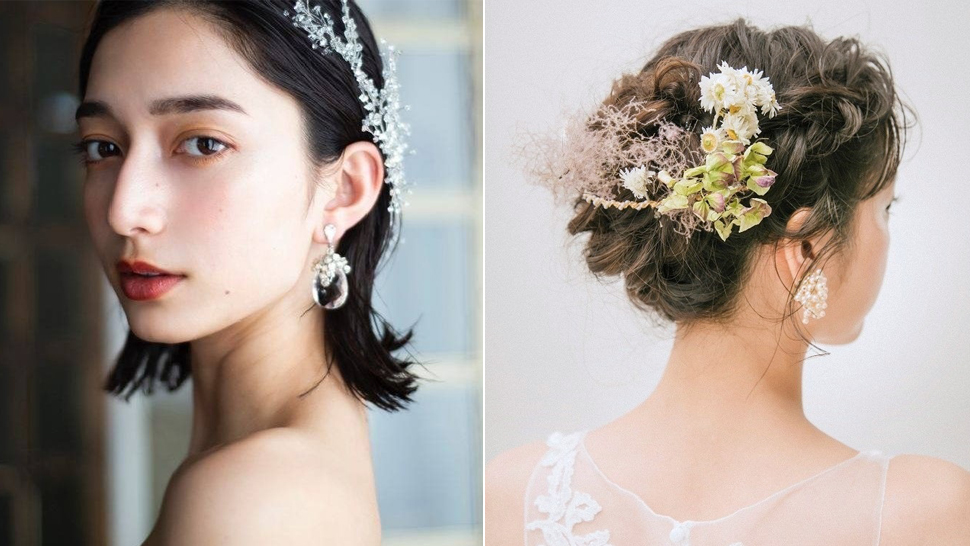 10 Chic Wedding Hairstyles for Brides with Short Hair