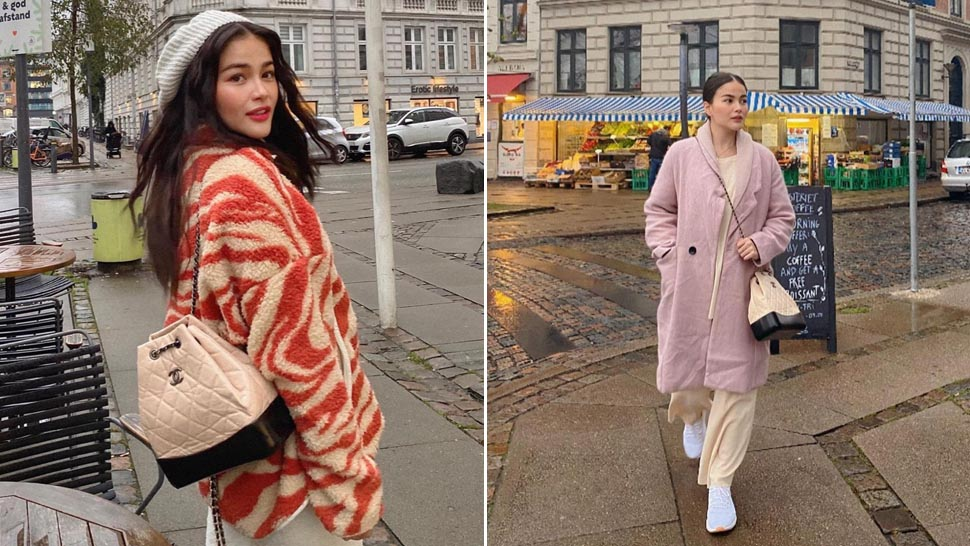 5 Stylish Winter Ootds We Spotted On Elisse Joson At Copenhagen, Denmark