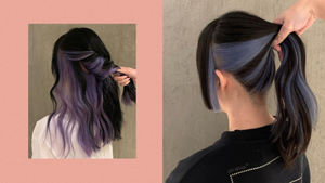 10 Ways To Wear The Hidden Hair Color Trend You've Been Seeing On Instagram