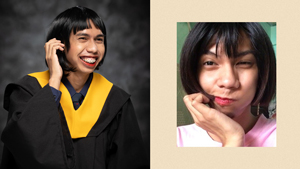 This Netizen Recreated Mimiyuuuh's Iconic Looks For His Graduation Photos