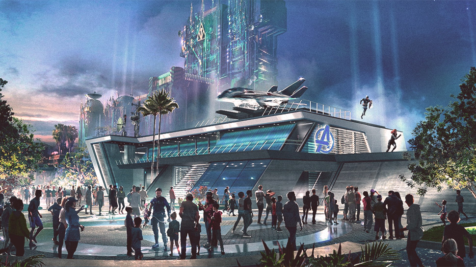 Everything We Know About Disney's New Avengers Park (So Far)