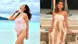 All The Chic Maternity Looks We've Spotted On Phoemela Baranda