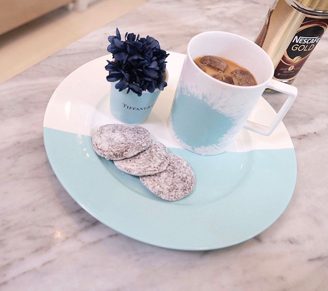 heart evangelista tiffany and co dinnerware set