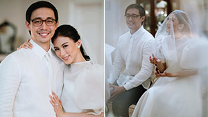 Alex Gonzaga And Mikee Morada Are Officially Married